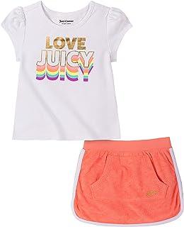 Juicy Couture 橘滋 女童滑板车 2 件套