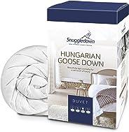 Snuggledown匈牙利鵝絨羽絨被, 13.5 Tog 冬季保暖, 雙人