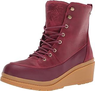 Muck Boot 女式 Liberty Cordovan 7 码防水坡跟休闲靴