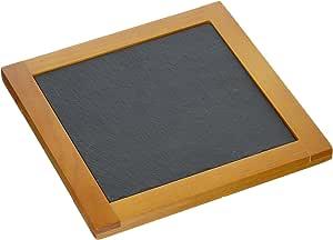 "Creative Home 松木板块方形 Trivet 自然表面 7.5"" X 7.5"" 73464"