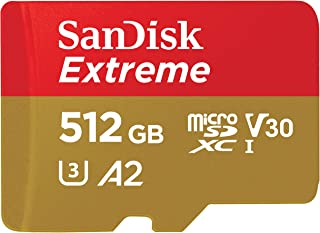 SanDisk 闪迪 Extreme micro SDXC储存卡 高达160 MB/s 512 GB