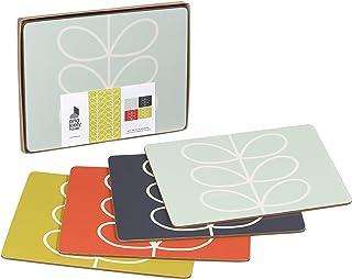 Orla Kiely 奥兰·凯利 植物茎线条画图案隔热垫 4件套