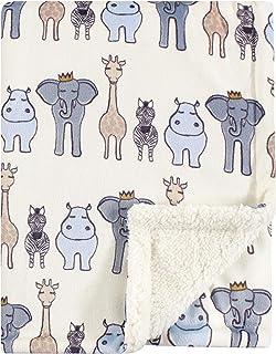 Hudson婴儿双层毛毯 Royal Safari 均码