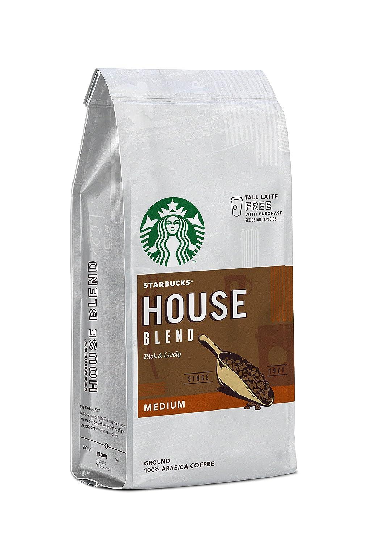 Starbucks 星巴克 House Blend研磨咖啡200克(6袋装)