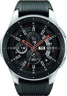 Samsung 三星 Galaxy 智能手表(46 毫米,GPS,蓝牙) – 银色/黑色(美国版)