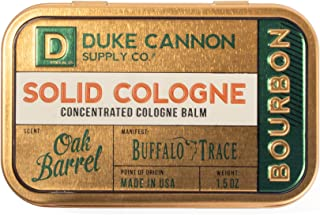 Duke Cannon 男士纯色 Cologne,1.5 盎司 Bourbon Trail 1.5 Ounces
