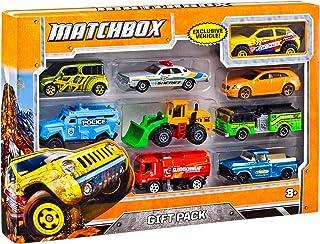 Matchbox 汽车玩具 多样礼品套装 样式可能会有所不同