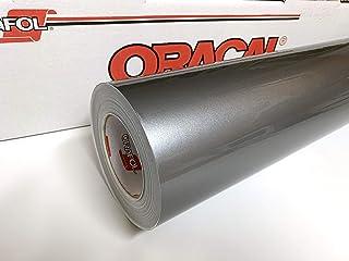 30.48 厘米 x 3.02 厘米 Oracal 951 高级金属乙烯基用于工艺切割机和乙烯基标志切割器(银色)
