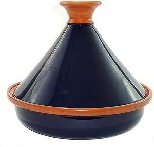 Le Souk Ceramique Cookable Tagine, Blue Cobalt