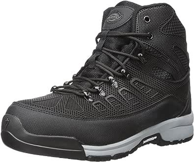 Dickies Banshee 男士工业靴 黑色/灰色 10.5 M US