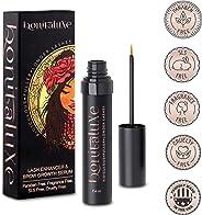Bonitaluxe 睫毛生长精华液 适用于睫毛和眉毛、睫毛增强剂和眉毛生长精华 7.4 毫升