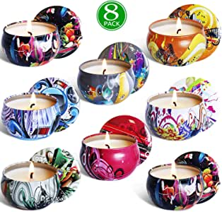 YIHANG SCNENTED 蜡烛 #6,scented Candles Gift Sets