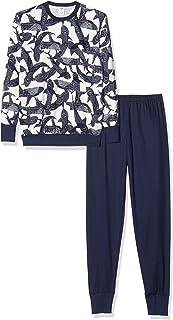 Calida 男孩鲨鱼图案睡衣套装