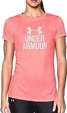 Under Armour 女士 Tech Crew-Graphic Twist 短袖衬衫