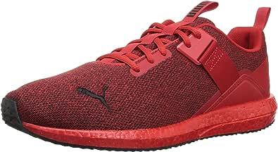 PUMA 男士 Mega NRGY Street 运动鞋 High Risk Red/Black 7.5