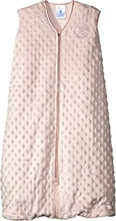 HALO SleepSack 长绒棉圆点毛绒睡袋 粉红色 中