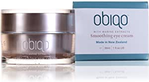 Obiqo Smoothing Eye Cream 1 oz Enriched With Anti-aging Marine Nutrients