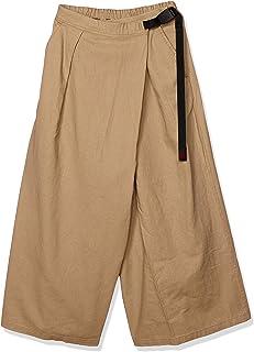GROMICHI 女式喇叭裤 LINEN COTTON WRAP FLARE PANTS