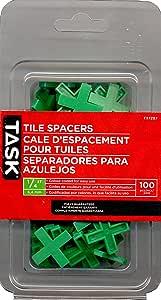 任务工具瓷砖垫片 1/4-Inch T37297