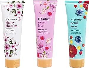 Bodycology 滋养保湿身体霜套装 - 樱花,甜美的爱和花瓣