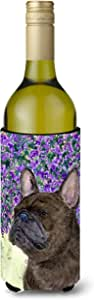 Caroline's Treasures SS8676-Parent 法国斗牛犬超饮隔热器适用于小型罐 SS8676MUK,多色 多种颜色 750 ml SS8676LITERK