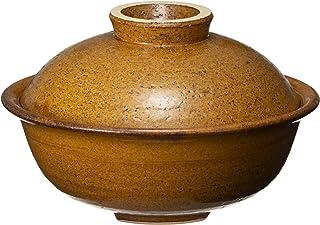 长谷园 蒸 小锅 (1-2人用) 焦糖色 IC-12