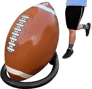 Island Genius 巨型充气足球和 T 恤 - 派对装饰运动玩具游戏和礼物,适合儿童、男孩、女孩和成人。