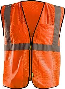 Value Mesh Surveyor Vest - ORANGE - 4XL/5XL
