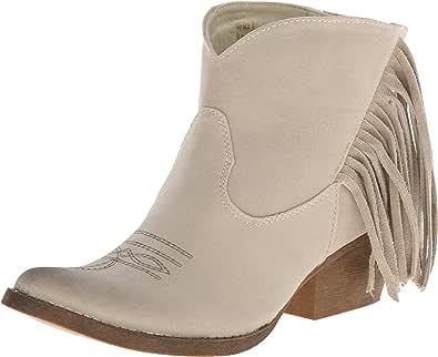 Spite 女士 Spektor Western 短靴 米色 6.5 M US