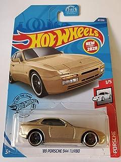Hot Wheels 2020 保时捷系列 - '89 保时捷 944 涡轮增压器,金色 47/250
