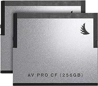 Angelbird 2x AV PRO CF 256GB 内存卡匹配套装适用于 Blackmagic Design URSA 迷你摄像机