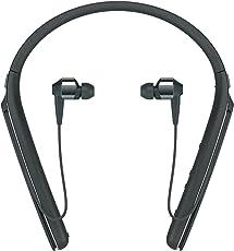 Sony 索尼 高级降噪入耳式无线耳机 挂颈式 黑色(wi1000x/B)