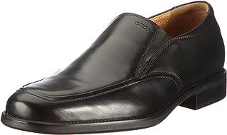 Geox 健力士 U Federico Z 男士 船鞋 便鞋 皮鞋 黑色 9999 39 EU