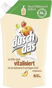 Duschdas 液体肥皂水果&奶油补充袋,1 x 500毫升
