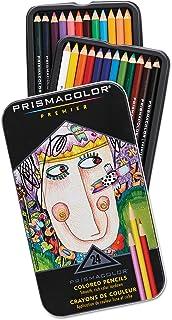 Prismacolor 3597THT 高级彩色木质铅笔,24种颜色/套装