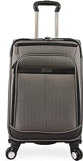 Perry Ellis Lexington Ii Lightweight Carry-On Spinner Luggage Herringbone 均码