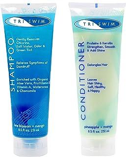 TRISWIM 氯洗发水和护发素礼品套装