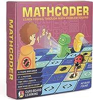 MATHCODER 棋盘游戏 - 利用你的数学打败计算机*。 Geeky STEM 儿童礼品 6 岁及以上。 加减、加法和除分(含编码)。