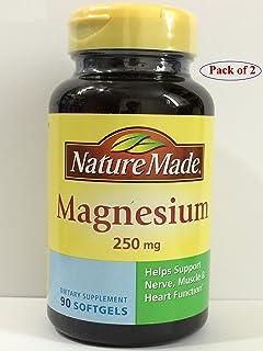 Nature Made 莱萃美 镁元素 250 毫克 液体软胶囊 90 粒 (2 瓶)