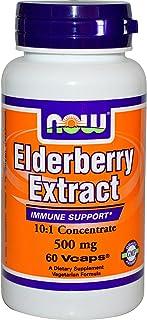 elderberry extract 500毫克 60 植物胶囊(2 件装