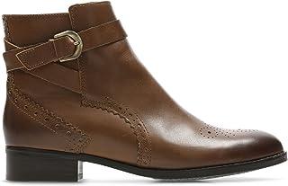 Clarks 女士 Netley Olivia 切尔西靴