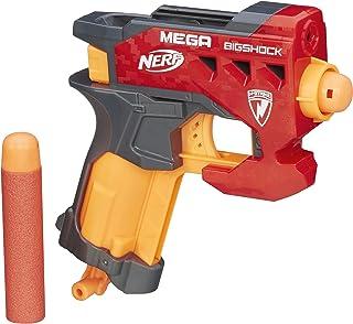 Nerf n-strike MEGA bigshock blaster–bigshock blaster fires MEGA darts