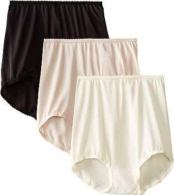 Bali 女式 Skimp 短内裤 #2633(3 件装) Moonlight/Rosewood/Black 6