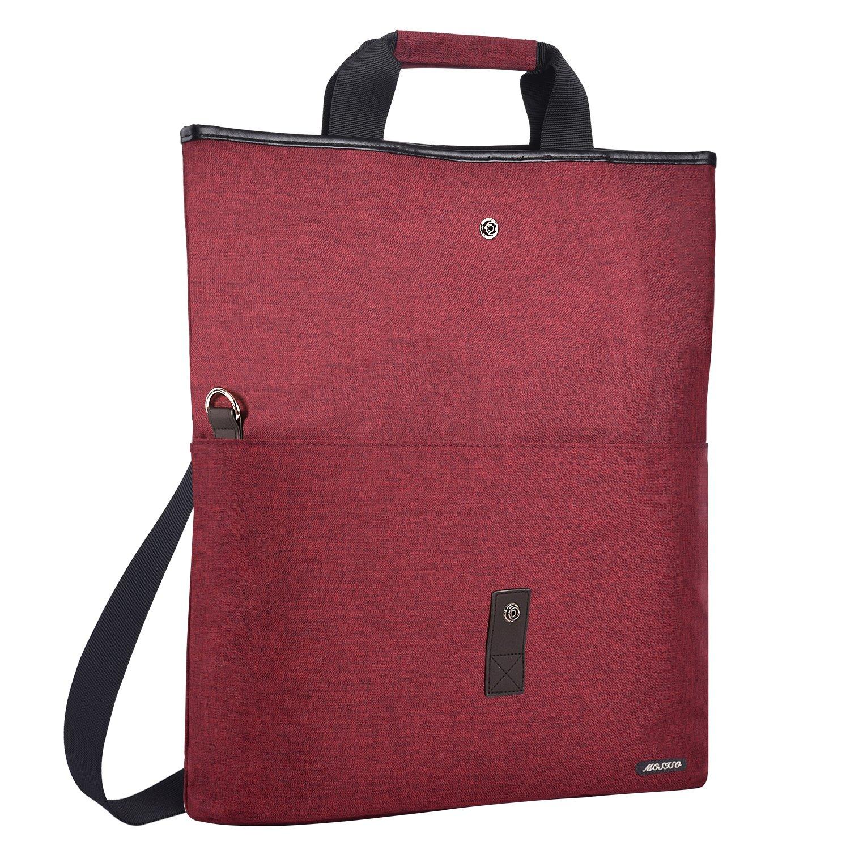 MOSISO 笔记本电脑包多功能可转换工作旅行购物行李公文包手提包斜挎包徒步背包