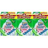 【量販】Scrubbing Bubbles 馬桶清潔劑 洗手間清潔劑 花香草香味 替換裝 大面膜 38g 4根×3組