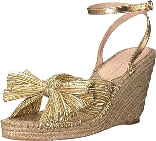 Loeffler Randall 女士 Charley-pla Espadrille 坡跟凉鞋