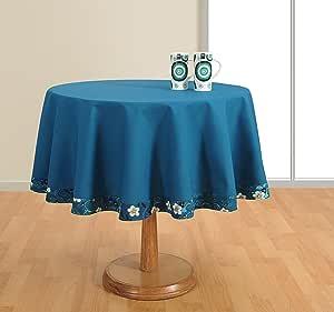 圆形桌布6seater 25.4CM 直径,100% 鸭棉, rtc02–1410sp ,橙色