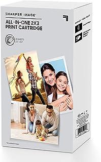 Sharper 图像照片打印机墨盒,2.1 x 0.64 厘米,4 张照片纸 - 20 包