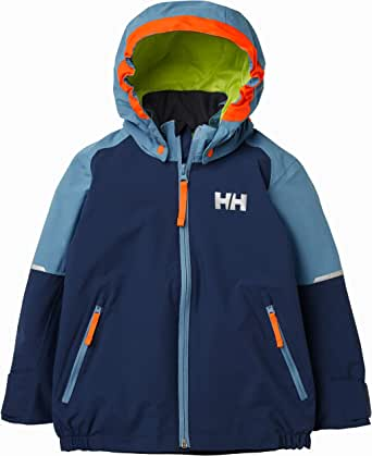Helly Hansen 儿童 K Shelter 冬季防水夹克 North Sea Blue 1 YRS