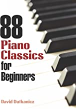 88 Piano Classics for Beginners (Dover Music for Piano) (English Edition)